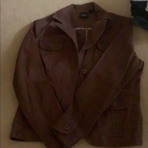 Women's brown Sonoma blazer in petite